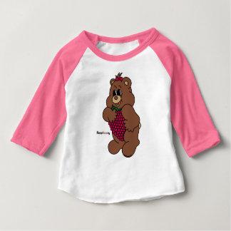 Camiseta Para Bebê Raspbearry - Zaubaerland