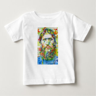 Camiseta Para Bebê RASPUTIN - aguarela portrait.1