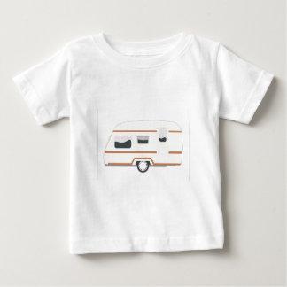 Camiseta Para Bebê Reboque de campista Van de acampamento
