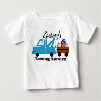Camiseta Para Bebê Reboque do ovo da páscoa