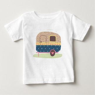 Camiseta Para Bebê Reboque lunático do acampamento
