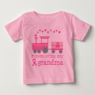 Camiseta Para Bebê Recordando minha avó