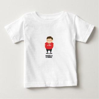 Camiseta Para Bebê Redonda é uma forma