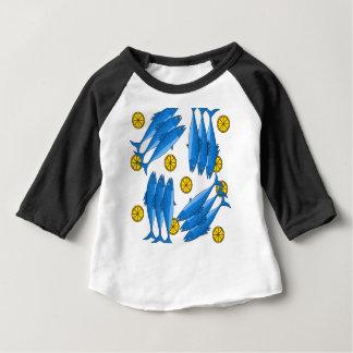 Camiseta Para Bebê Refeição 2 da cavala