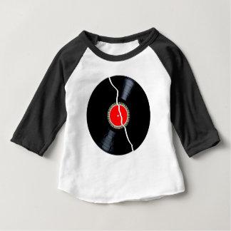 Camiseta Para Bebê Registro quebrado isolado