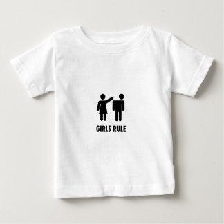 Camiseta Para Bebê Regra das meninas