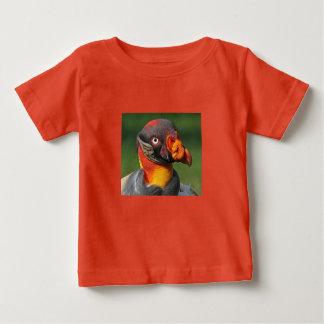 Camiseta Para Bebê Rei abutre - caráter interessante