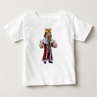 Camiseta Para Bebê Rei Caráter dos desenhos animados