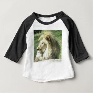 Camiseta Para Bebê Rei de animais