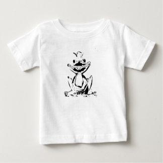 Camiseta Para Bebê Rei de rã