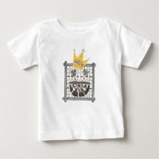 Camiseta Para Bebê Rei Sudoku Bebê T-shirt