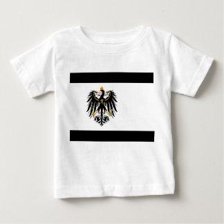 Camiseta Para Bebê Reino Preussen estandarte de nacional