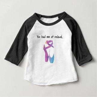 Camiseta Para Bebê Releve 1