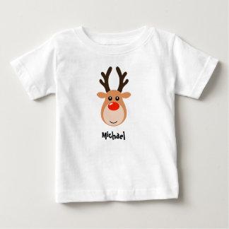 Camiseta Para Bebê Rena com os t-shirt conhecidos do bebê
