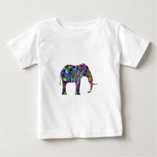 Camiseta Para Bebê Renascimento do elefante