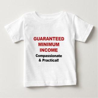 Camiseta Para Bebê Renda mínima garantida