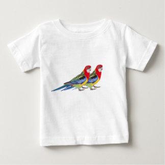 Camiseta Para Bebê Repita mecanicamente a imagem para o t-shirt do