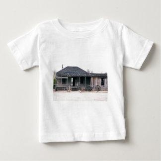 Camiseta Para Bebê Réplica do tribunal e da cadeia do feijão de Roy