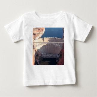 Camiseta Para Bebê Represa da garganta do vale e ponte, arizona