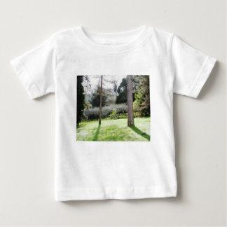Camiseta Para Bebê Representação artística do campo de tuscan
