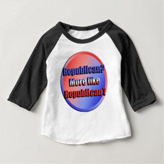Camiseta Para Bebê Republicant