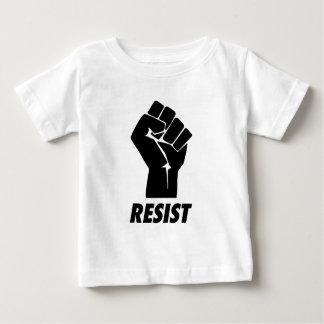 Camiseta Para Bebê resista o punho