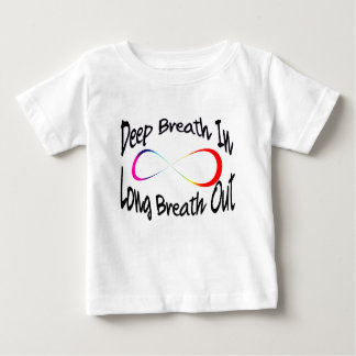 Camiseta Para Bebê respiração infinita