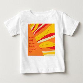 Camiseta Para Bebê respire profundamente
