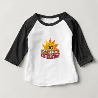 Camiseta Para Bebê ressurreição da páscoa do jc