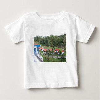 Camiseta Para Bebê retirada de férias em Costa-Rica