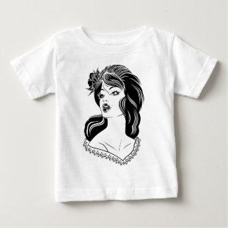 Camiseta Para Bebê Retrato
