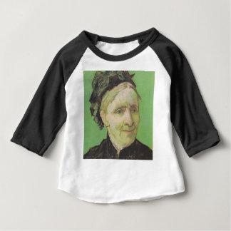 Camiseta Para Bebê Retrato de Vincent van Gogh da arte da mãe do