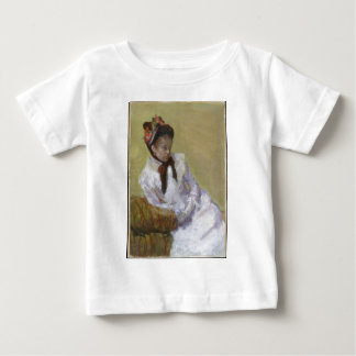Camiseta Para Bebê Retrato do artista - Mary Cassatt