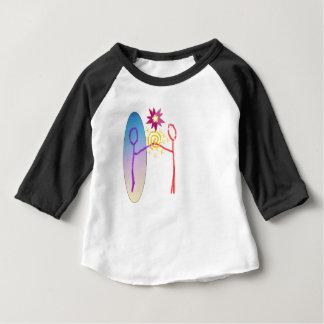 Camiseta Para Bebê Reunião cósmica: Fear_Feels_Love