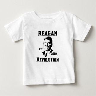 Camiseta Para Bebê Revolução de Reagan