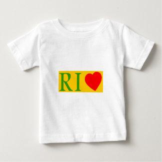 Camiseta Para Bebê Rio de Janeiro de janeiro love