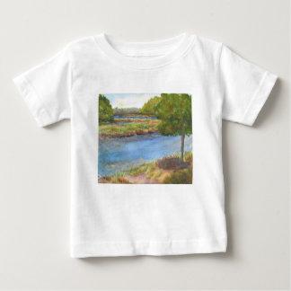 Camiseta Para Bebê rio do squamscott newfields no 31 de julho de 2015
