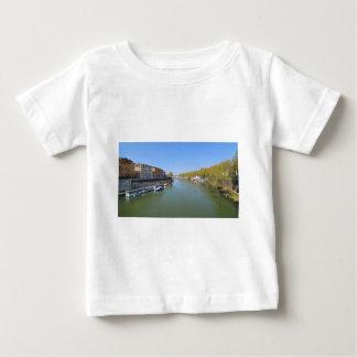 Camiseta Para Bebê Rio Tibre em Roma, Italia