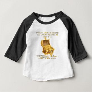 Camiseta Para Bebê Riqueza do jogo