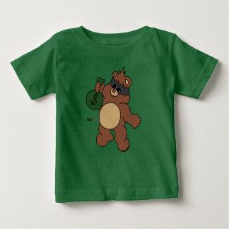 Camiseta Para Bebê Robbear - Zaubaerland