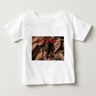 Camiseta Para Bebê Rocha do diabo
