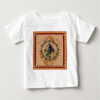 Camiseta Para Bebê Rocha ereta