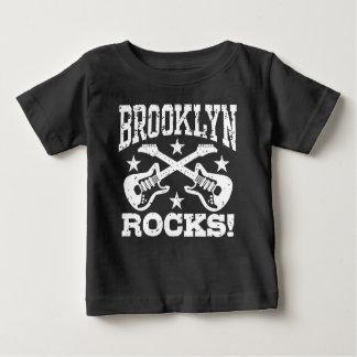 Camiseta Para Bebê Rochas de Brooklyn