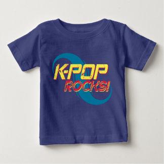 Camiseta Para Bebê Rochas do K-Pop!  (Luz)