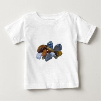 Camiseta Para Bebê Rochas lustradas