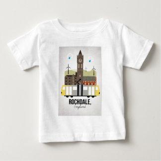Camiseta Para Bebê Rochdale