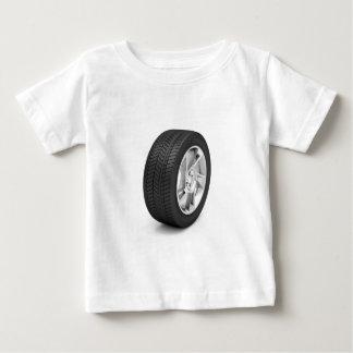Camiseta Para Bebê Roda de carro