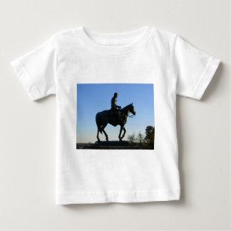 Camiseta Para Bebê Rogers no por do sol
