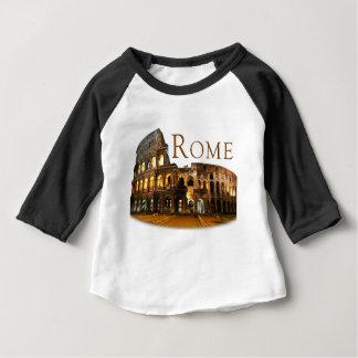 Camiseta Para Bebê Roma