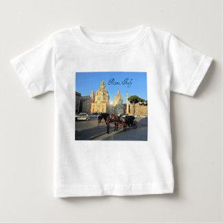 Camiseta Para Bebê Roma, Italia